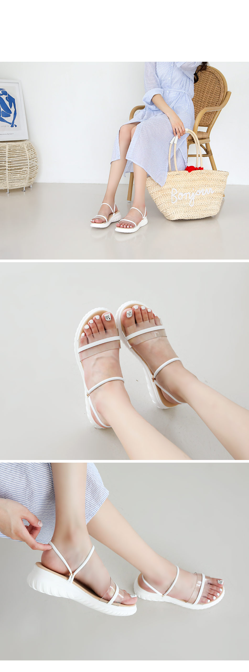 Cellia Twoway Sandals 4cm