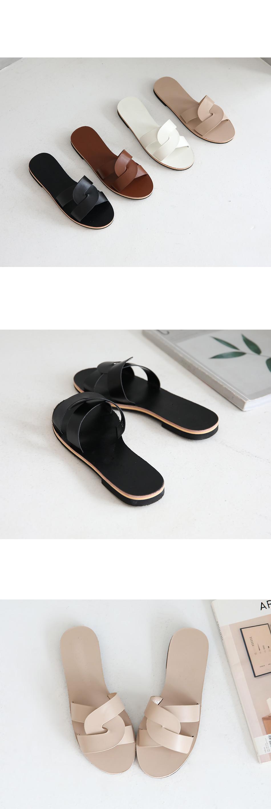 Ruble Run Slippers 1cm