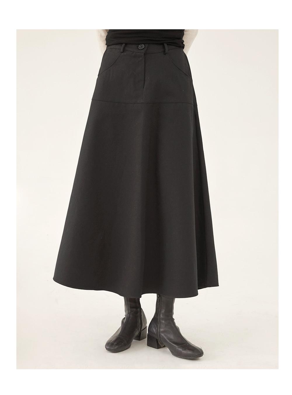 lauren A-line flare skirt
