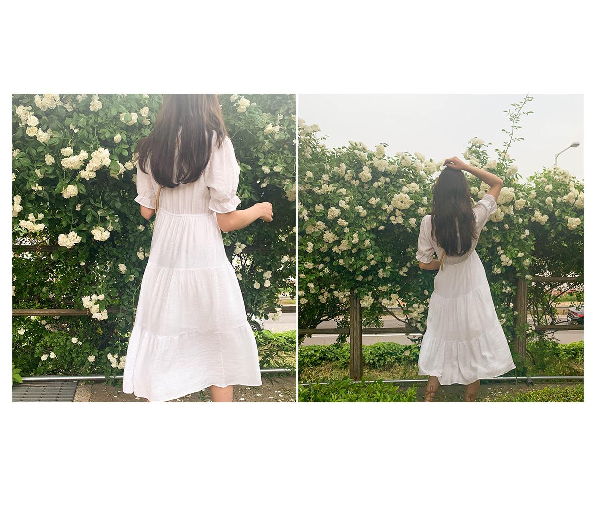 Cangkung Seleb Button Dress