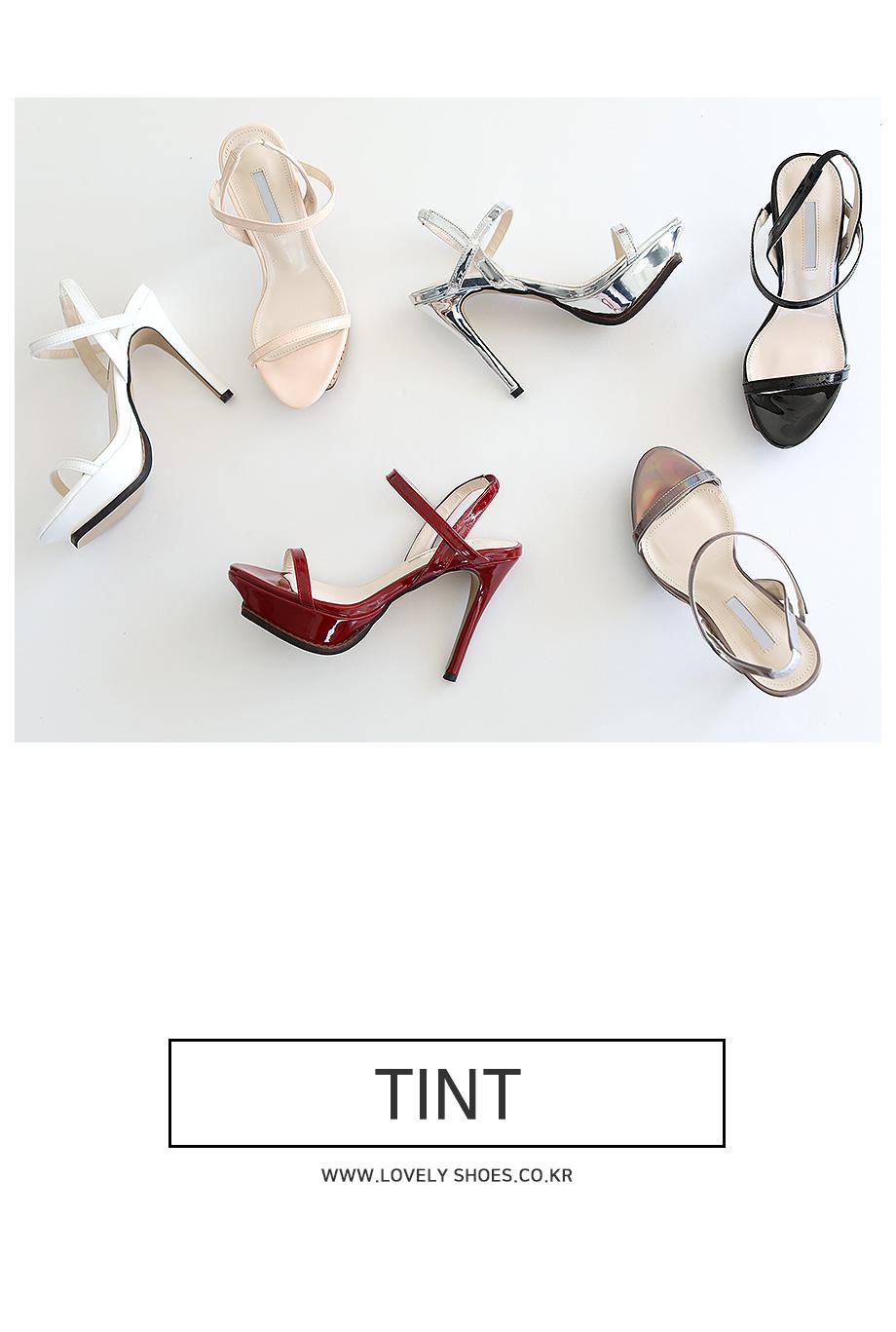 Tin Strap Slingback Heel 11.5cm