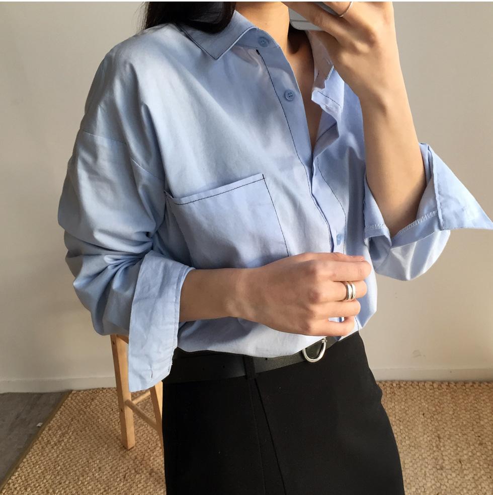 Mood stitch shirt