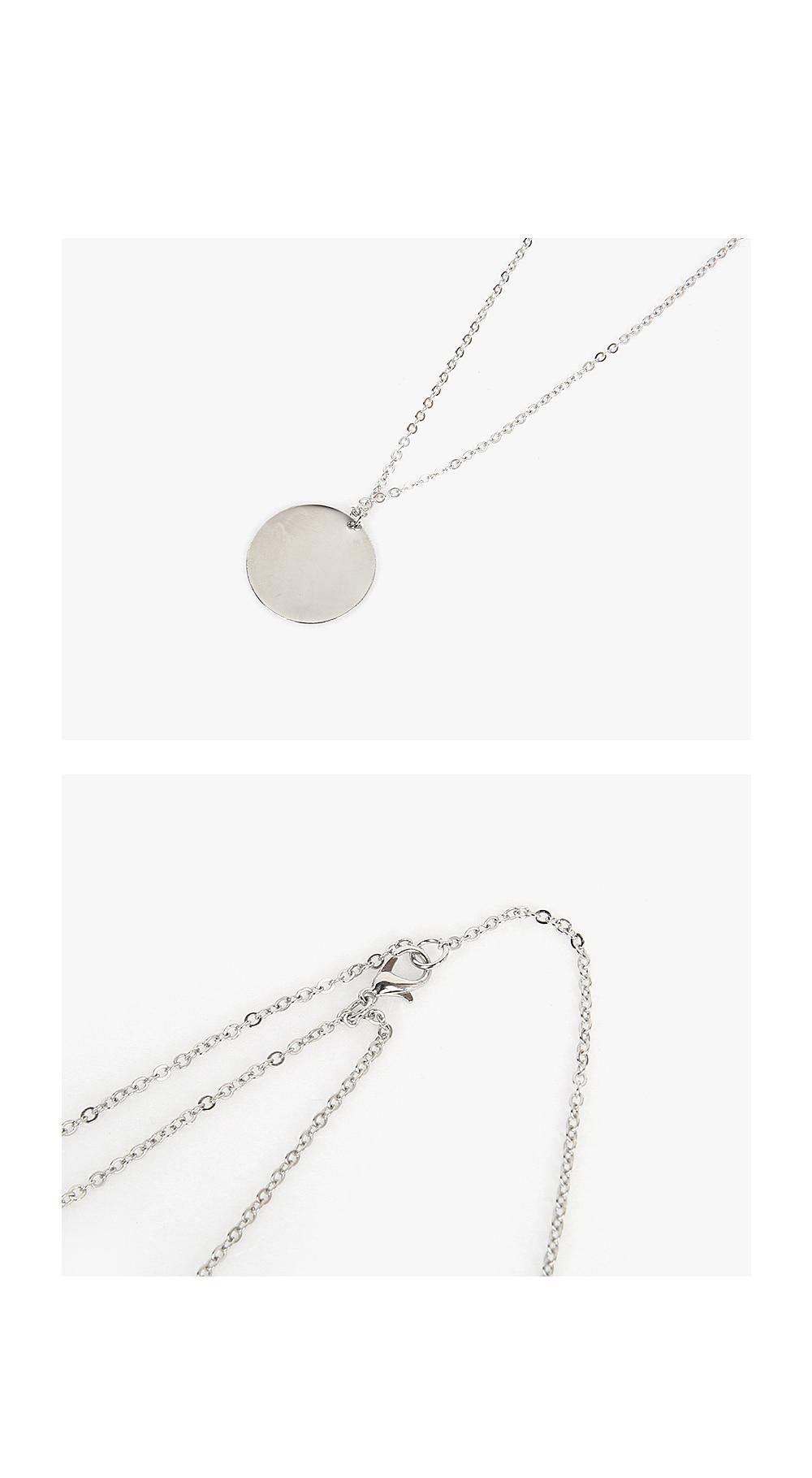 bulky pendant necklace