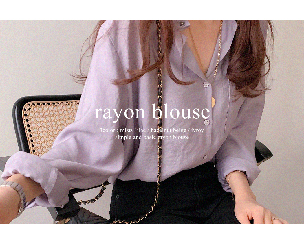 Eli Lilly Rayon Blouse