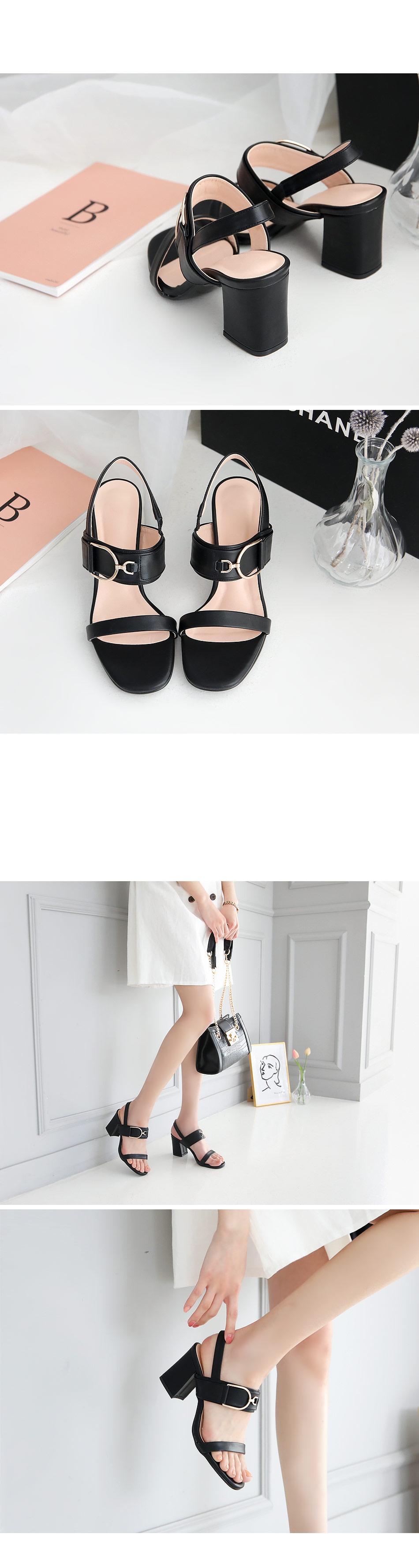 Lenny Rose Slingback Sandals Heel 7cm
