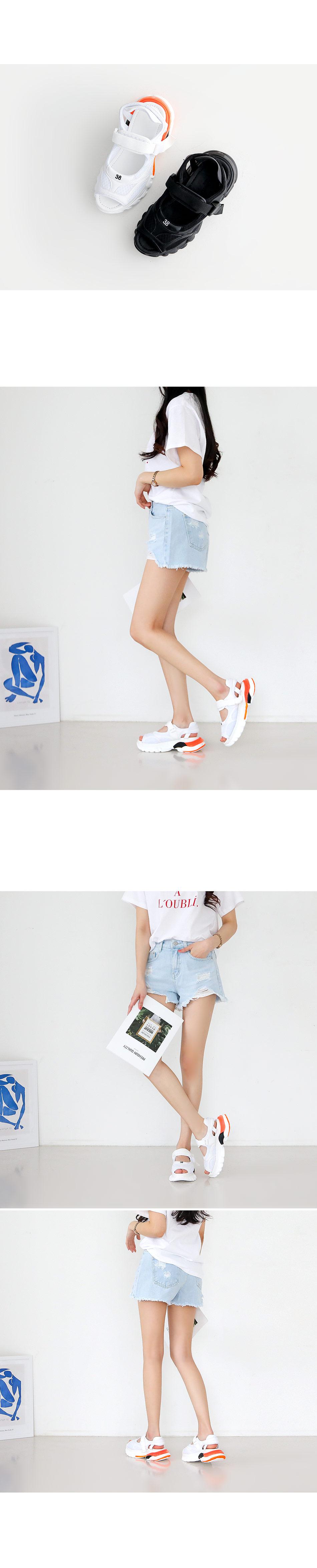 Geloroa Ugly Sandals 5cm
