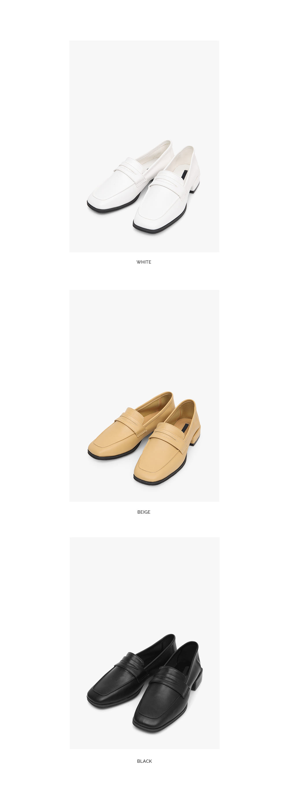 square attract loafer (230-250)