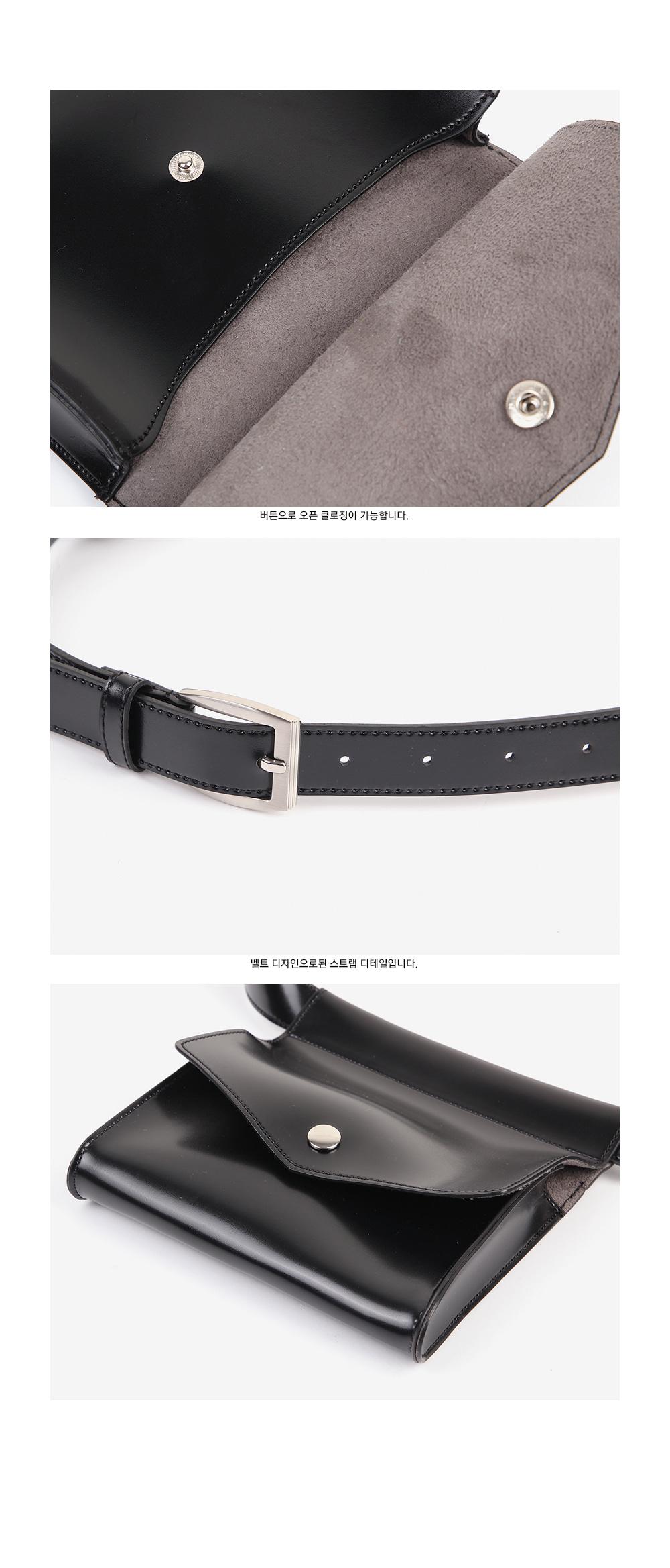 pot square belt bag