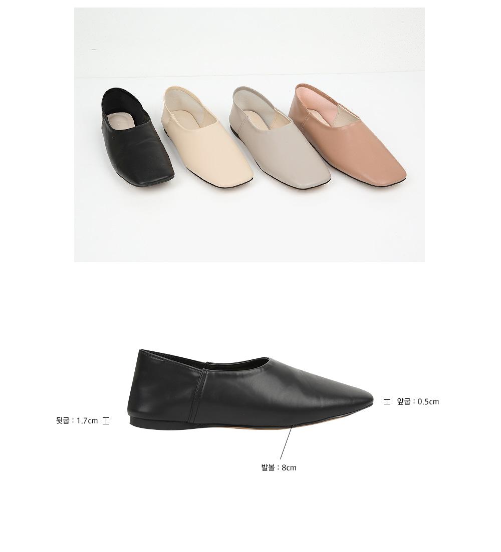 square toe loafer