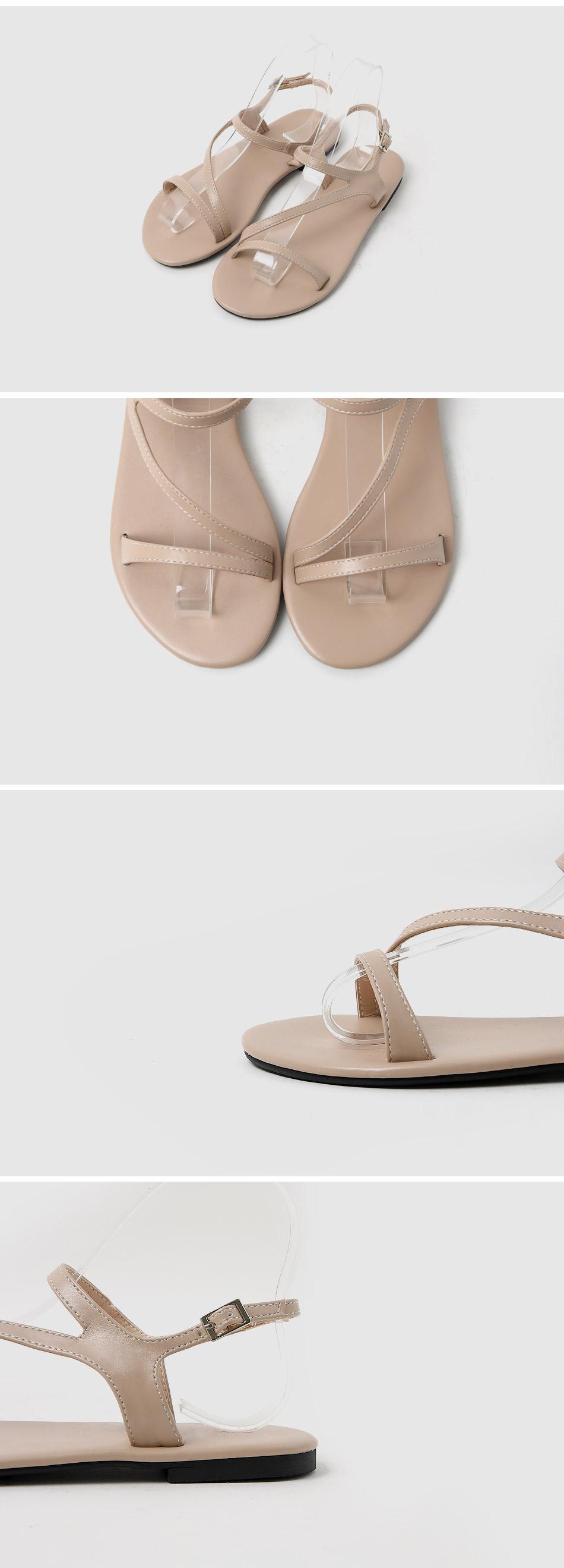 Tzelron Slingback Sandals 1cm