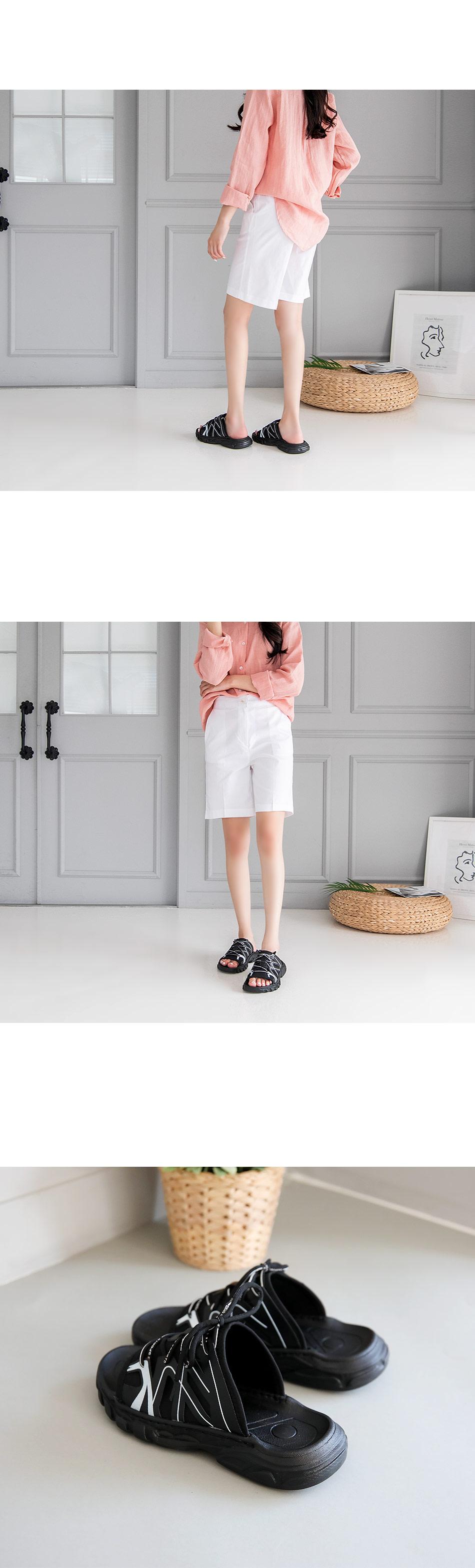Tennis Slippers 3cm