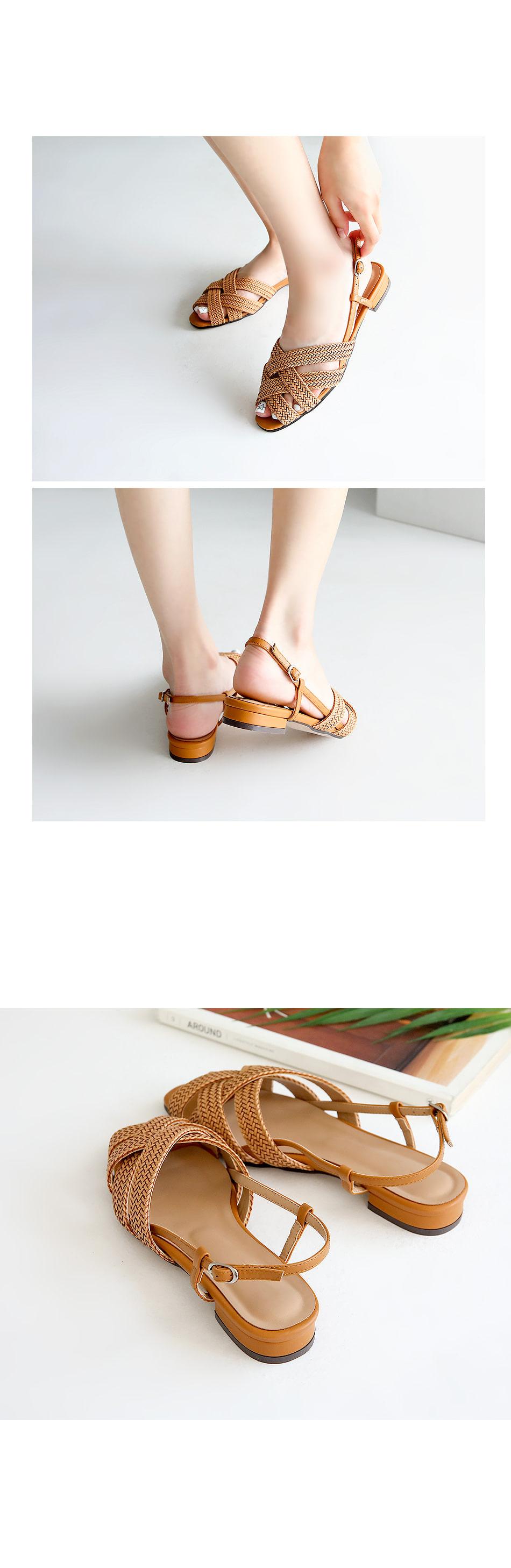 Repecan Sling Back Sandals 2cm