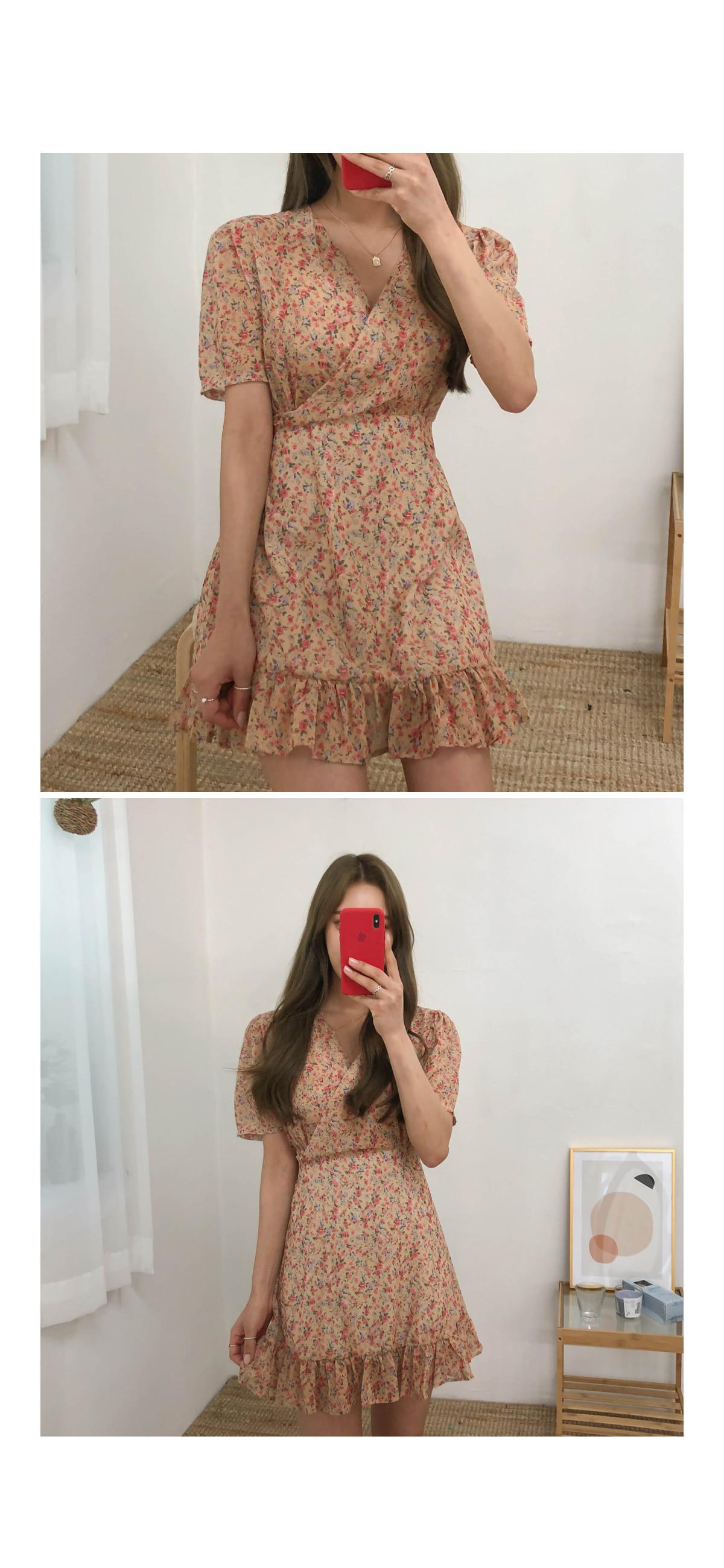 Flower Alice Mini Dress