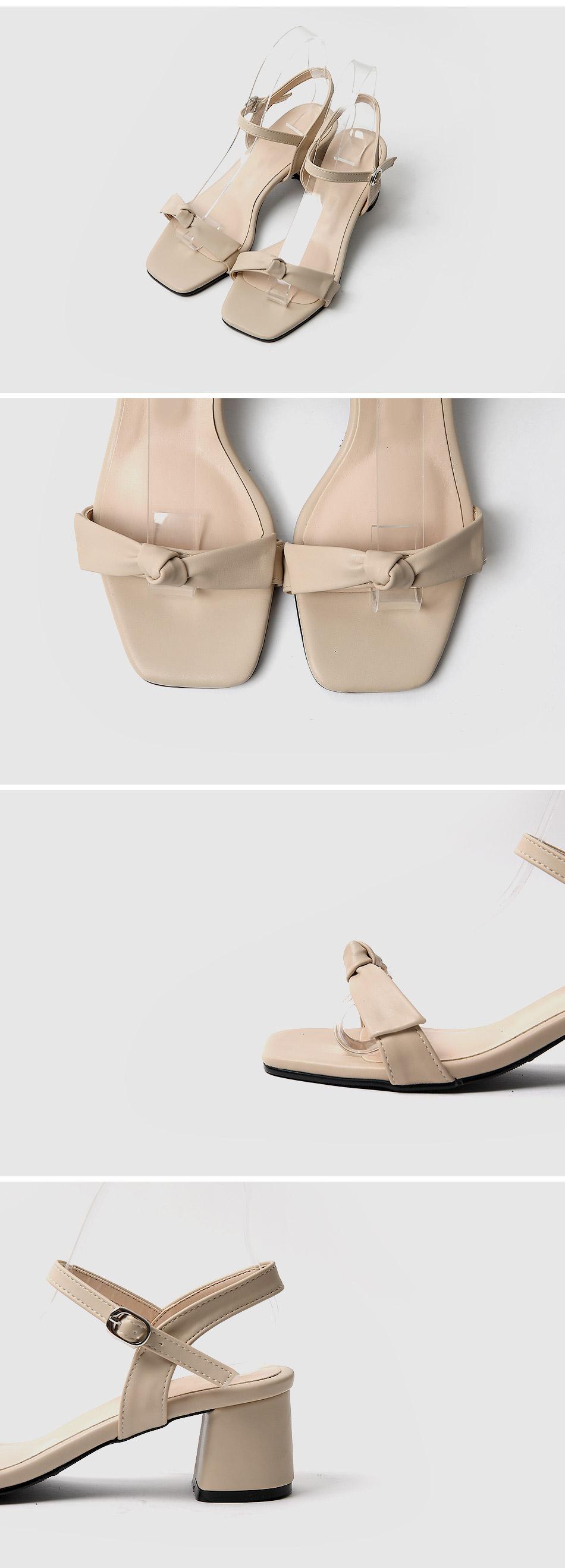 Remans strap sandals heel 5cm