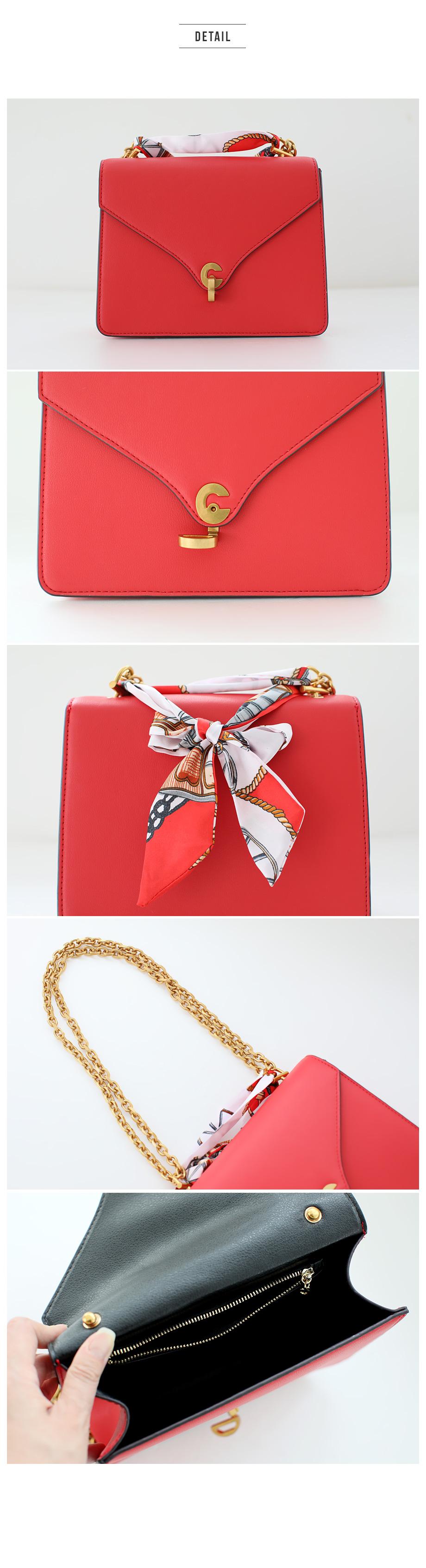 Heat chain chain bag
