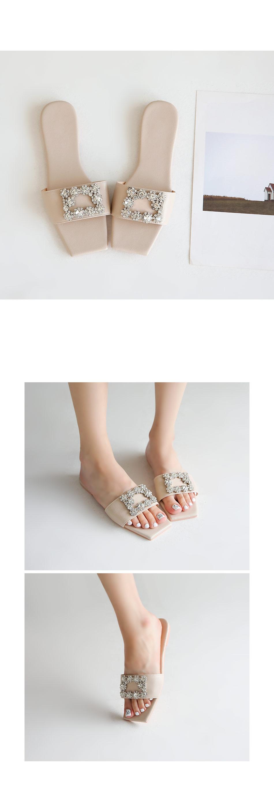 Caviel Slippers 1cm