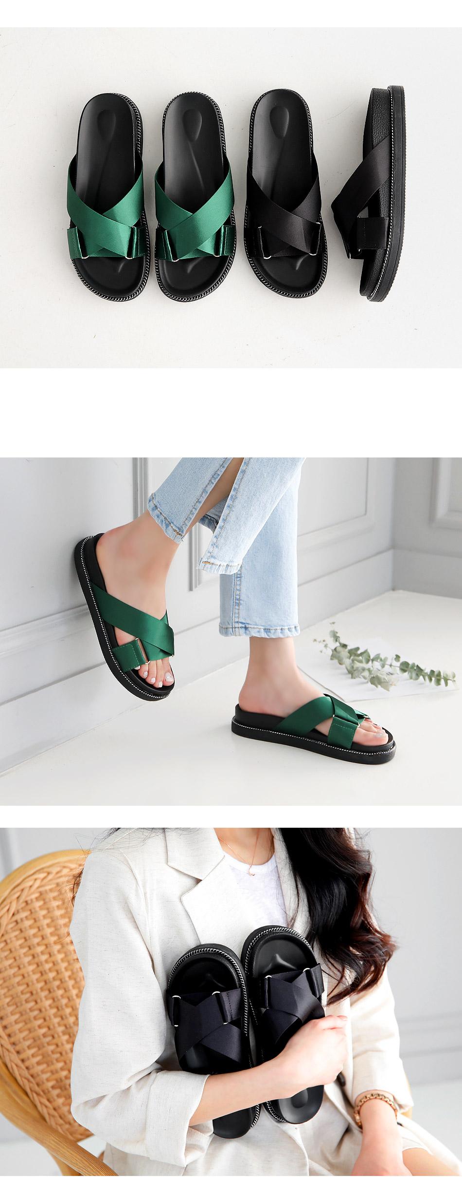 Kleenex slippers 3.5cm