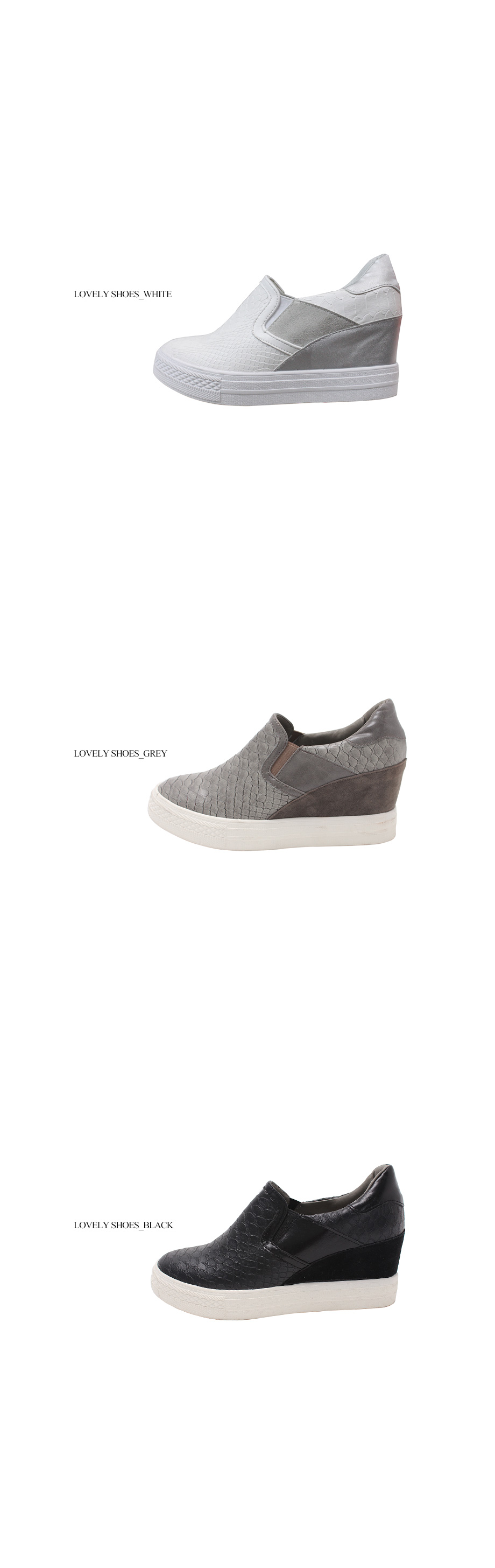 Horniness height 7cm slip-on