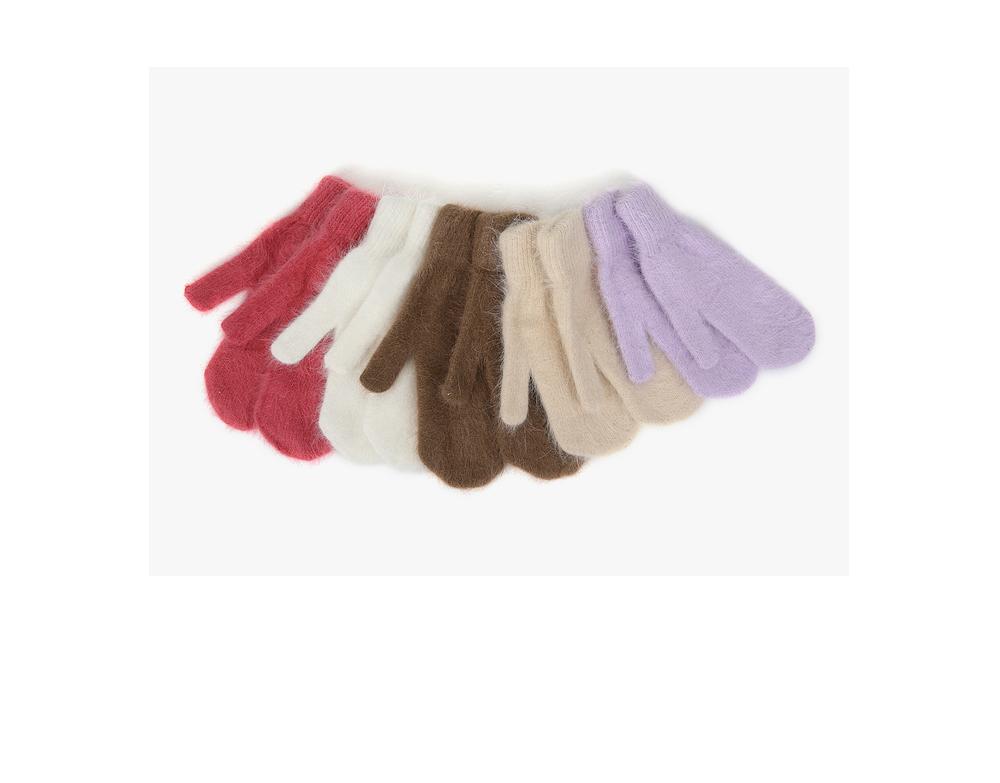 angora cute gloves