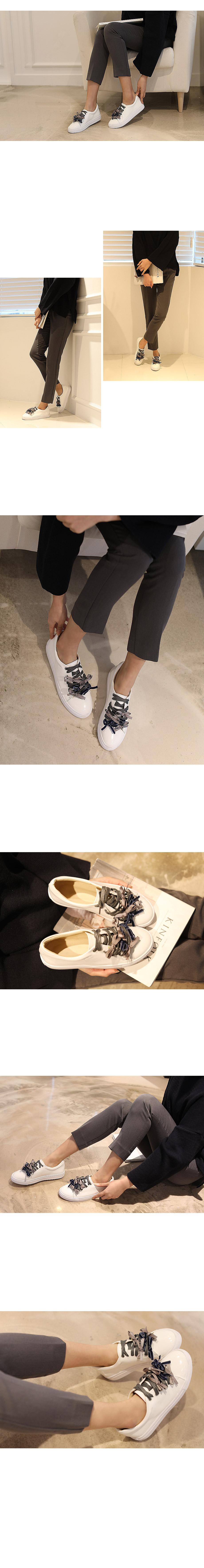 Carnie ribbon sneaker 2.5cm