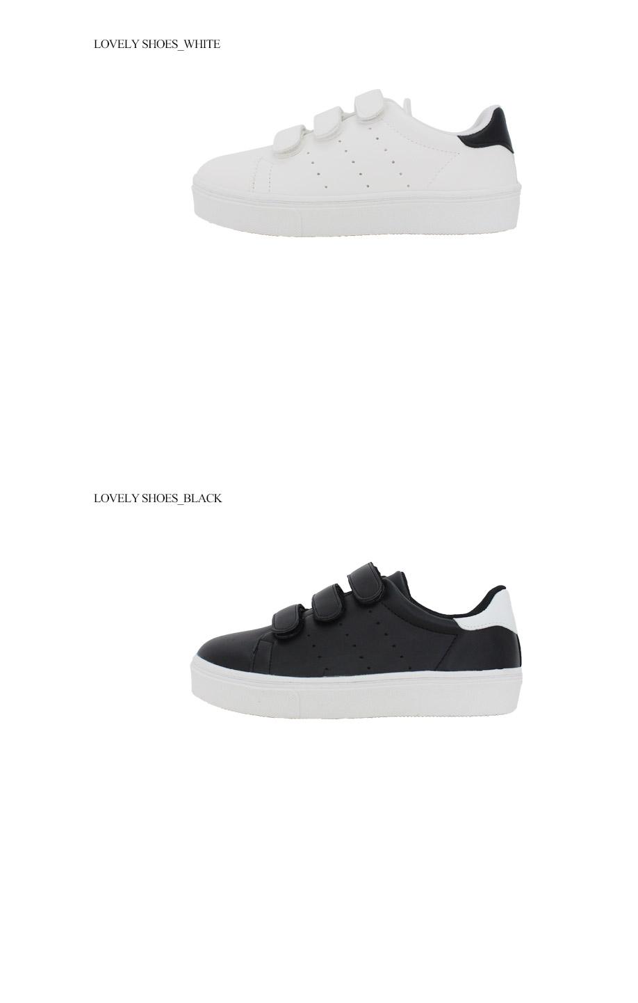 LARANI Velcro Sneakers