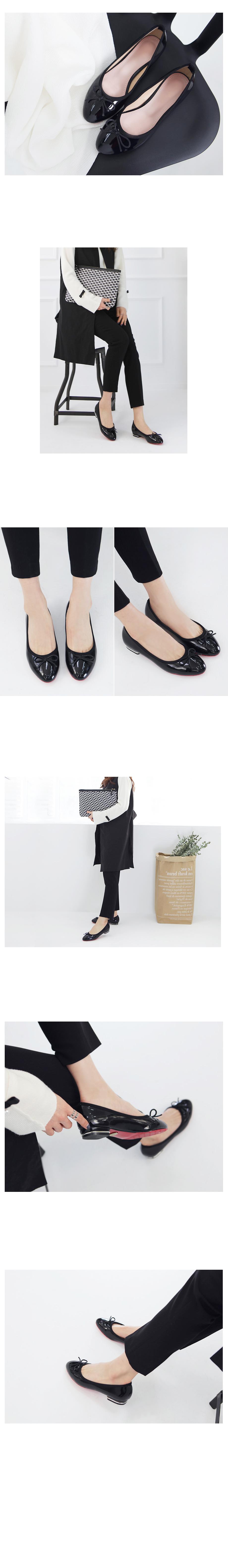 Effect Flat Shoes 2.5cm