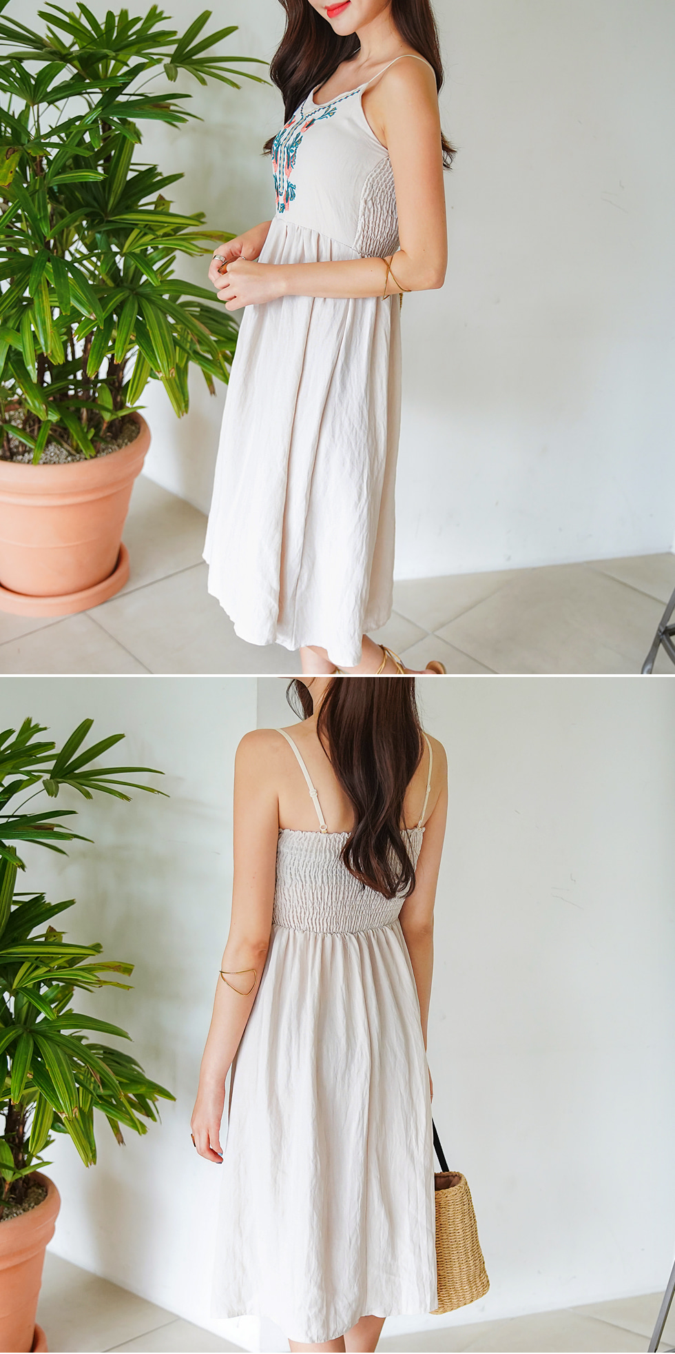 Chid embroidery dress