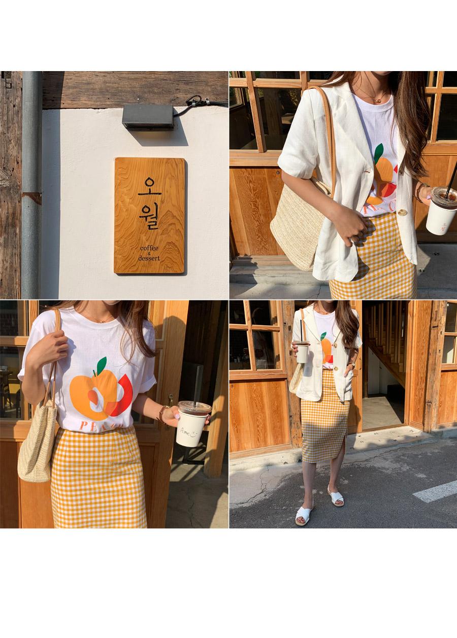 Pitch Orange T-shirt