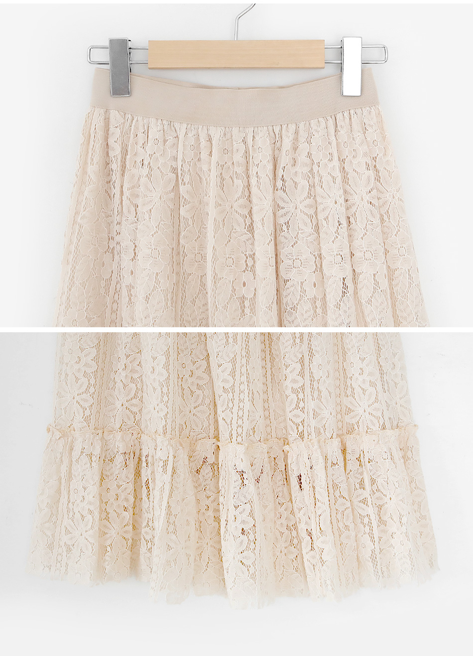 Danaa lace skirt
