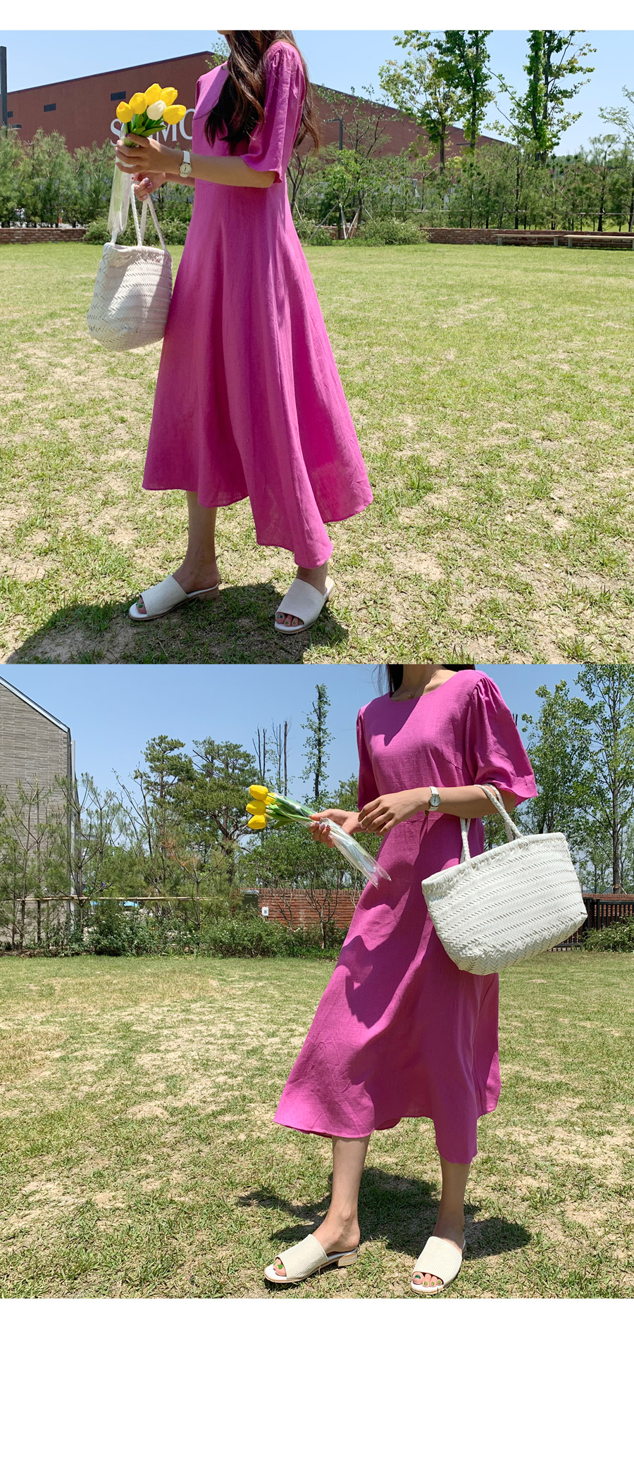 Linen Rachel Long Dress