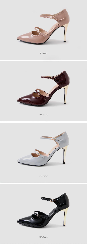 Pottery Jane Stiletto Heel 9cm