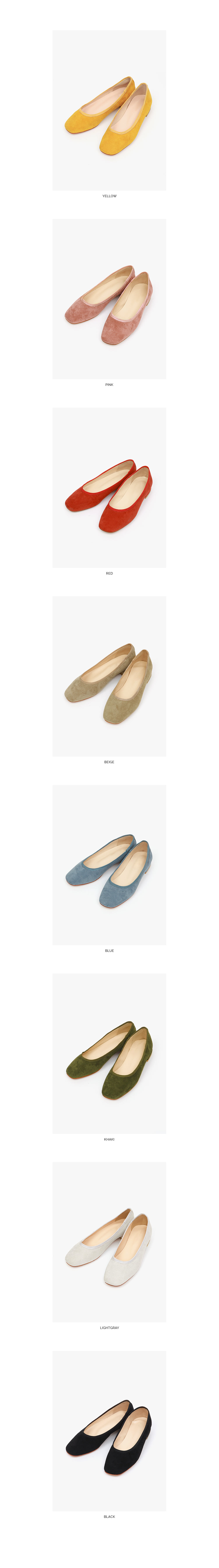 maybe suede flat shoes (230-250)