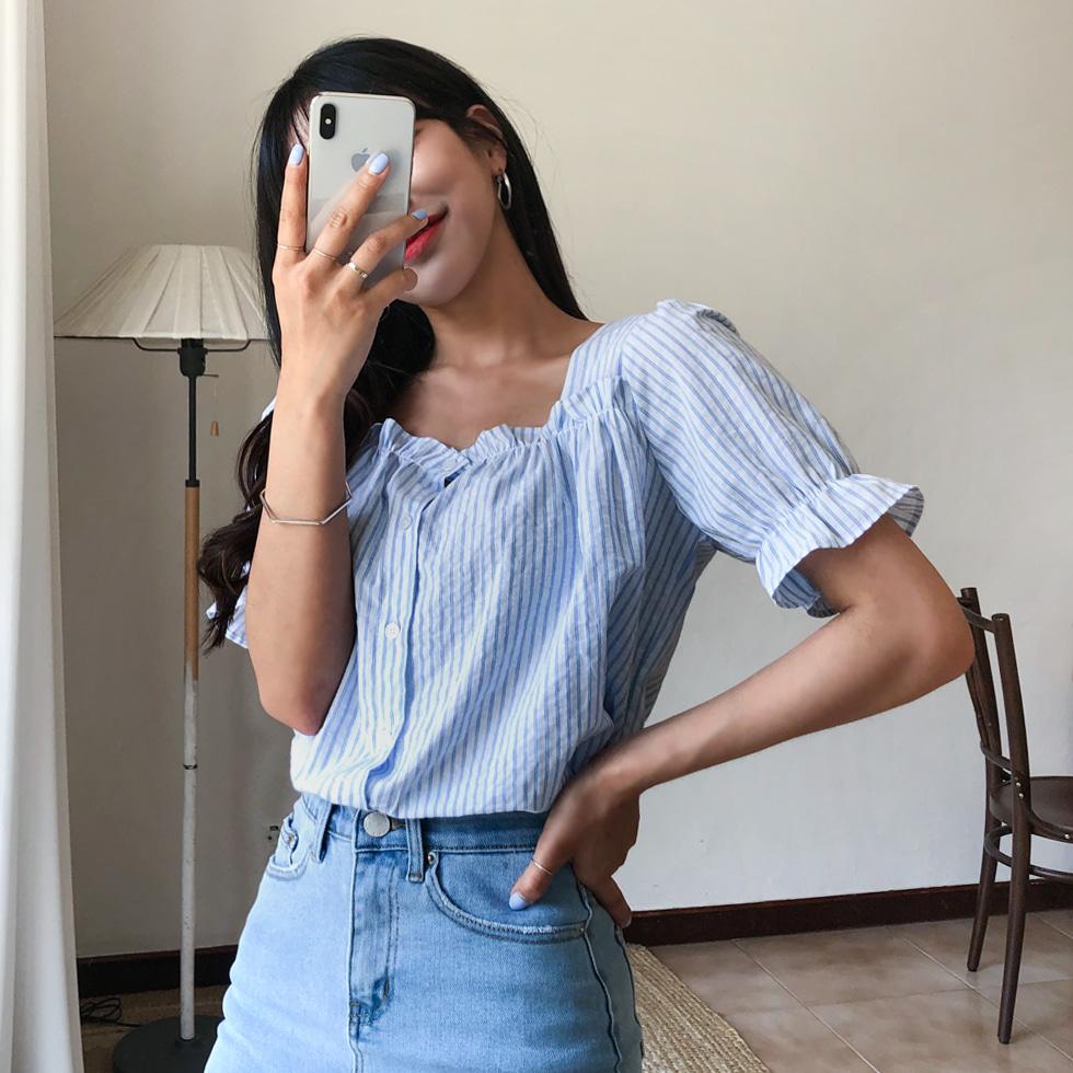 Easy to wear denim skirt