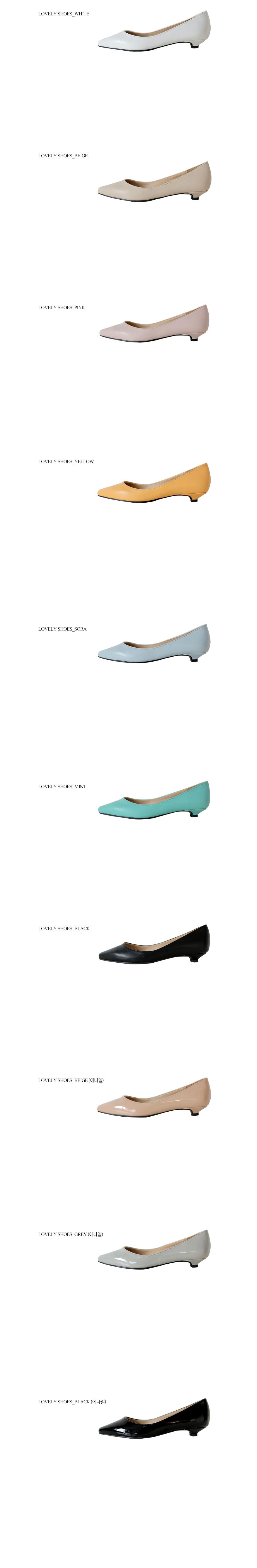 Canny Flat Shoes 2.5cm