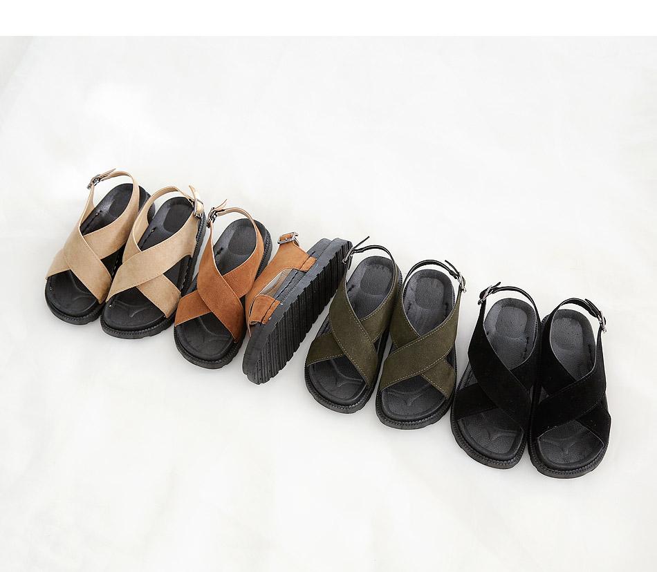 Balo asling bag sandals 4cm