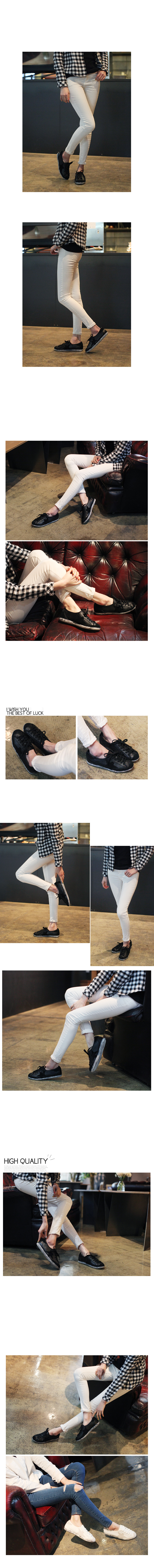 Hestine height adjustment sneakers 3cm