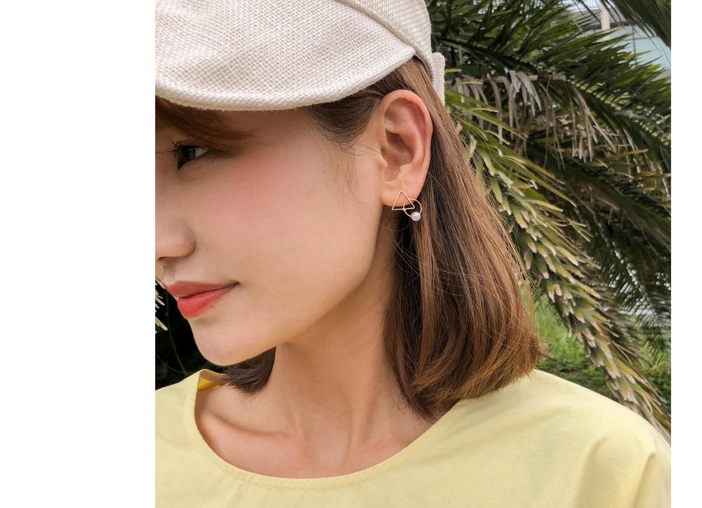 gold mix earring set