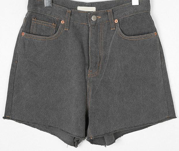 damaged washing short pants