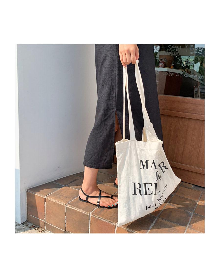 Maisonette Lettering Eco Bag