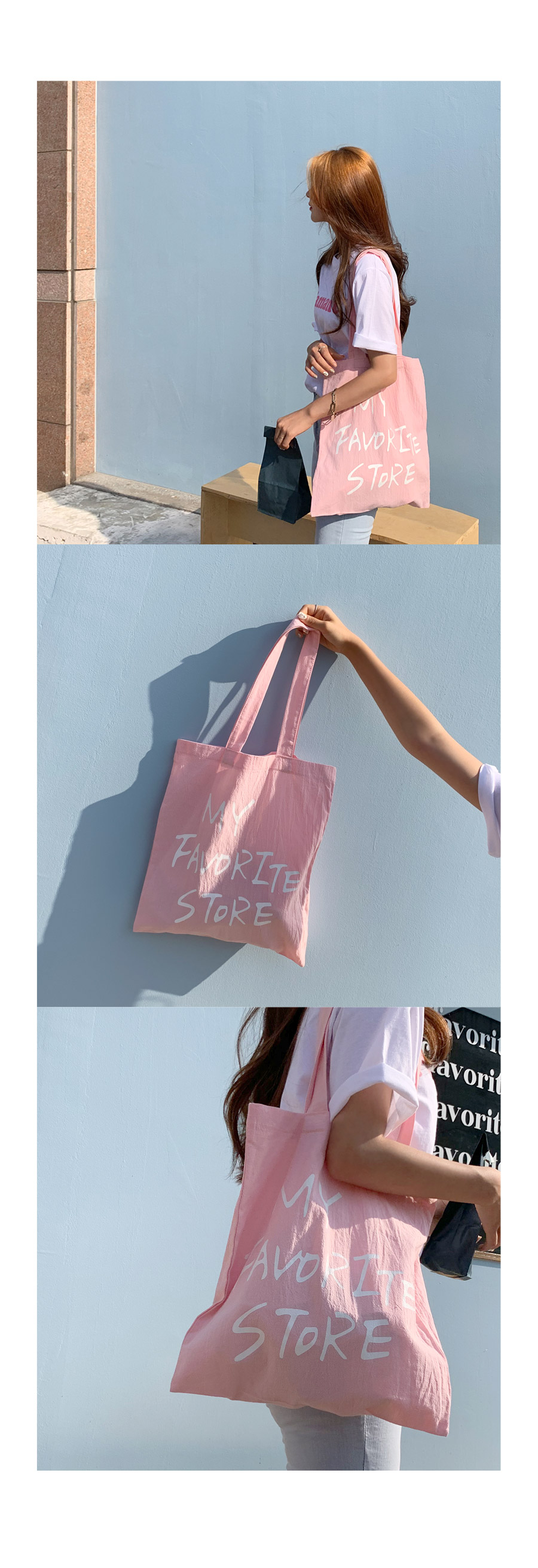 Mighty Pink Eco Bag