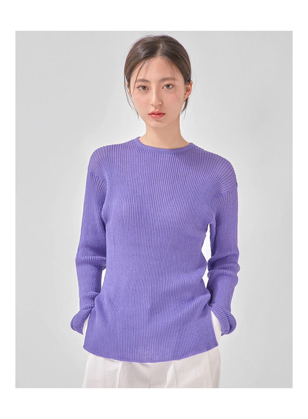 minute see through knit