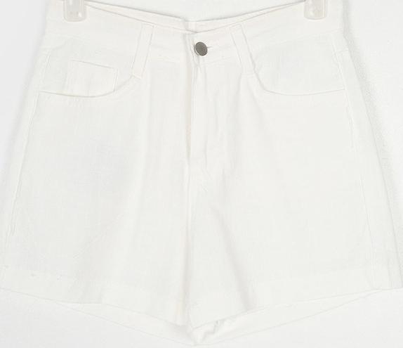 base linen short pants (s, m, l)