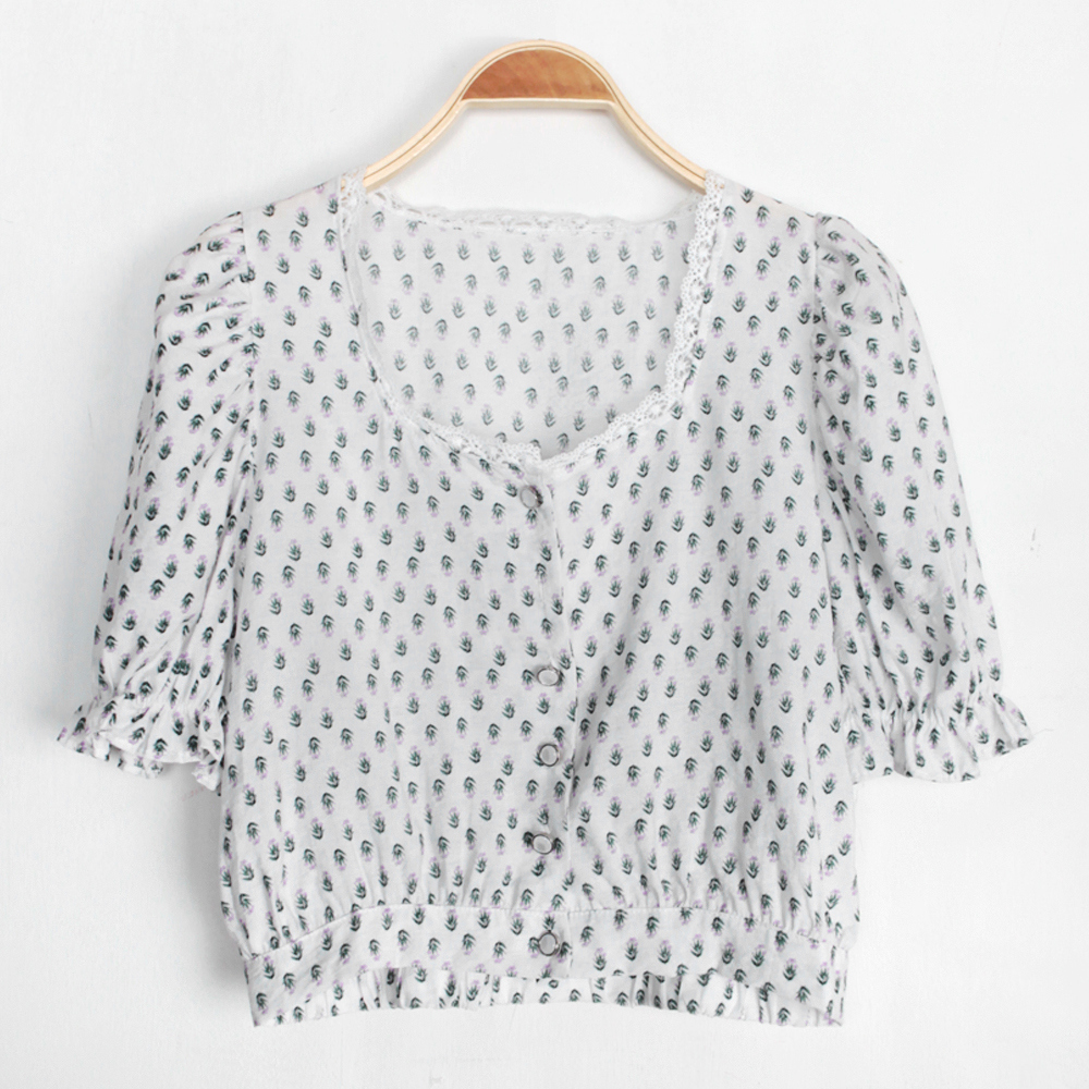 By and Puff Blouse
