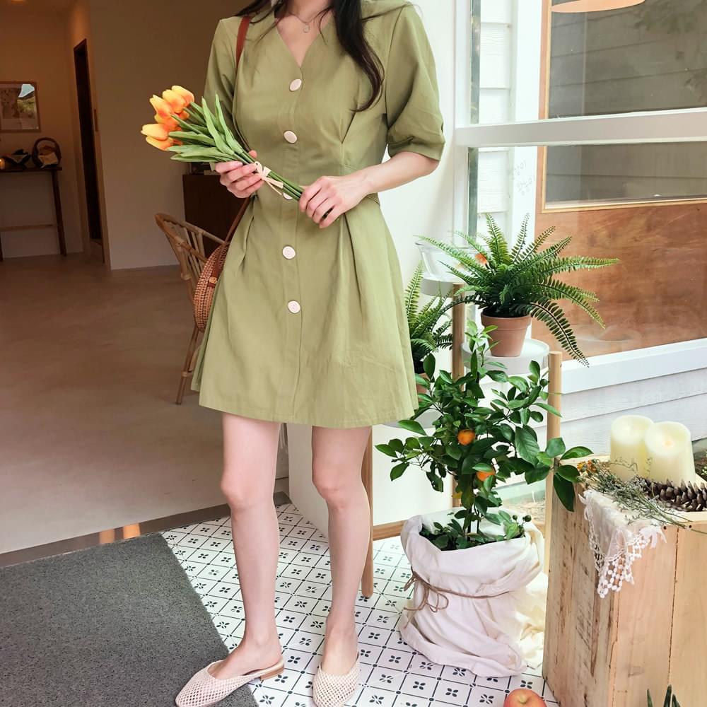 Green tea taste dress