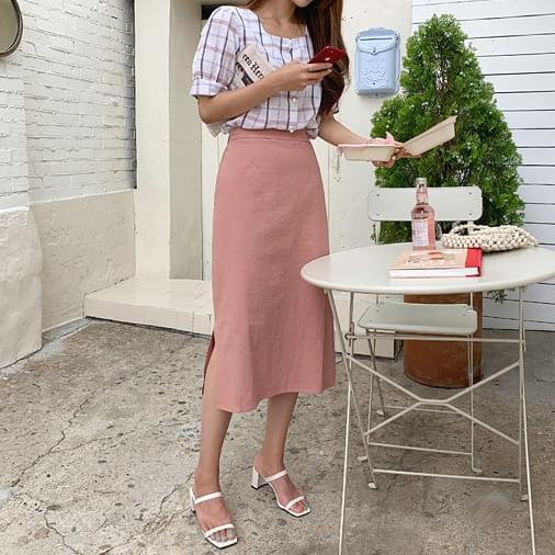 Eve Basic Midi Skirt