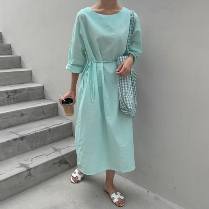 Sharket Round Long Dress