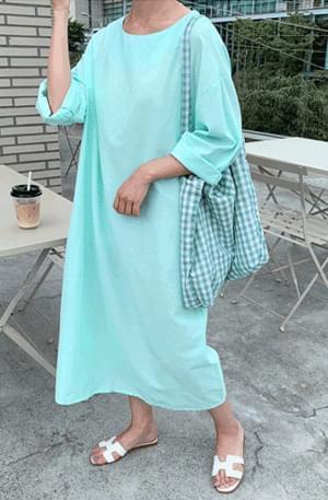 Sharket Round Long Dress