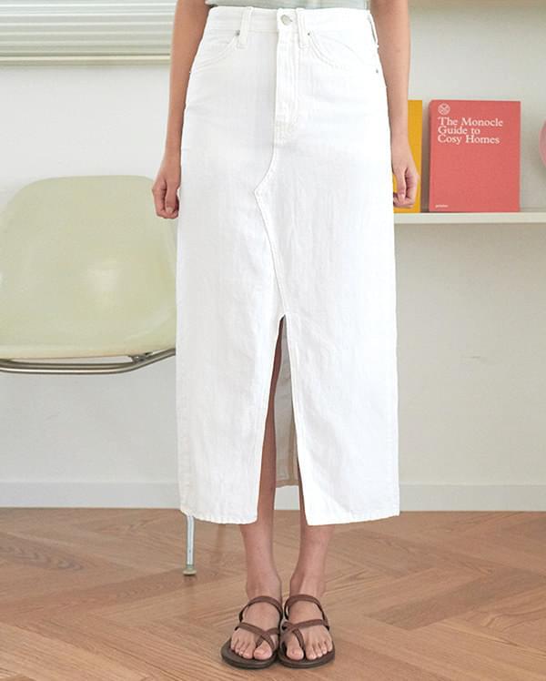 a summer pure skirt