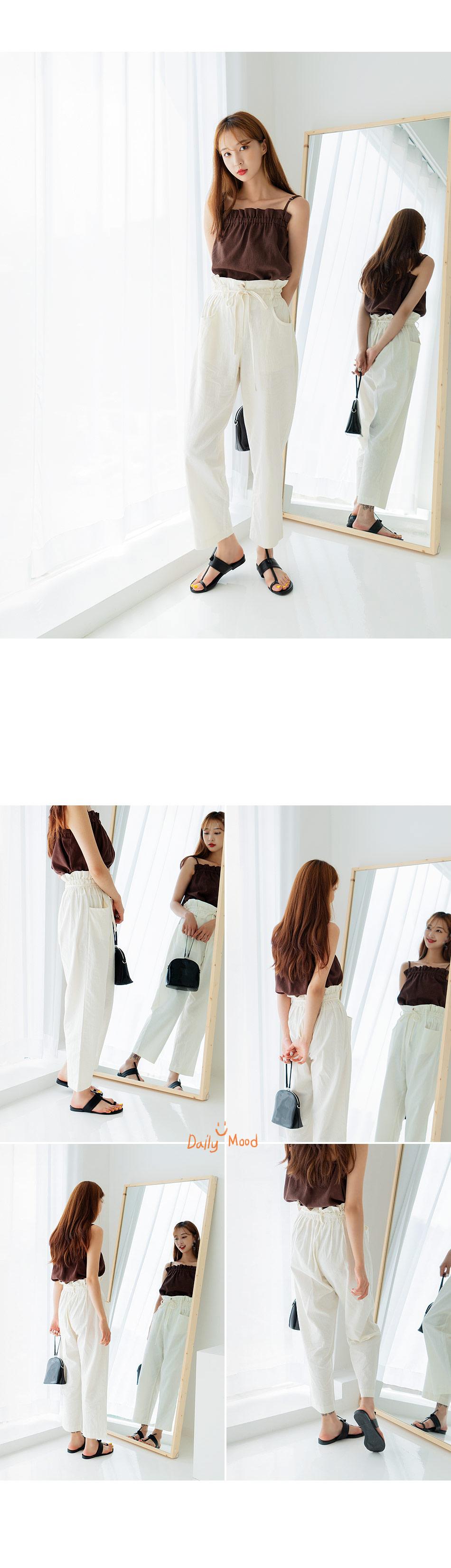 Mont linen pants
