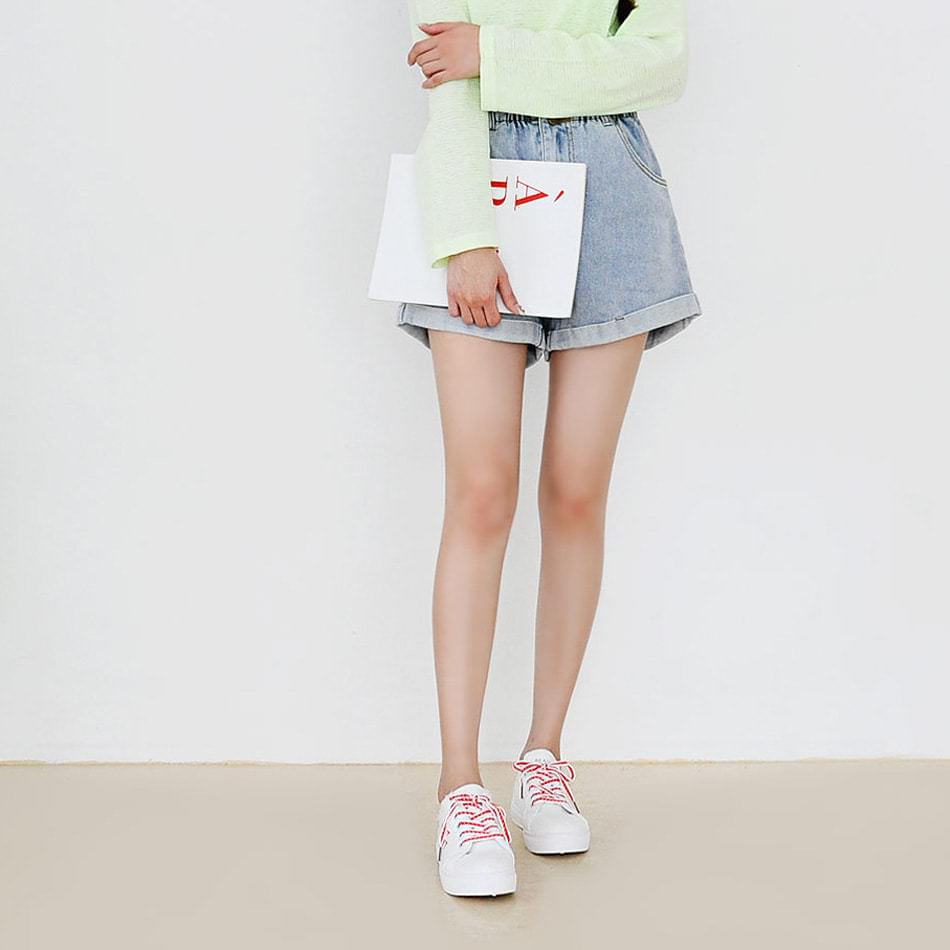 Uitron denim shorts